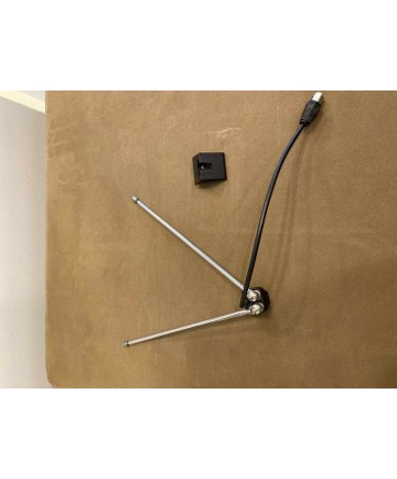 """Music System Spares - Beosound Rabbit Ear FM Antenna - Black - 5 Star ***** - this product is """"as new"""", with no cosmetic damage, no missing parts/accessories."""